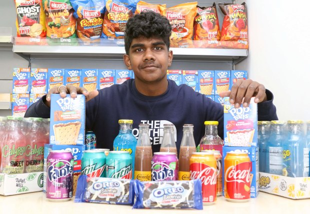 Young entrepreneur builds a strong sweet based business in the UK
